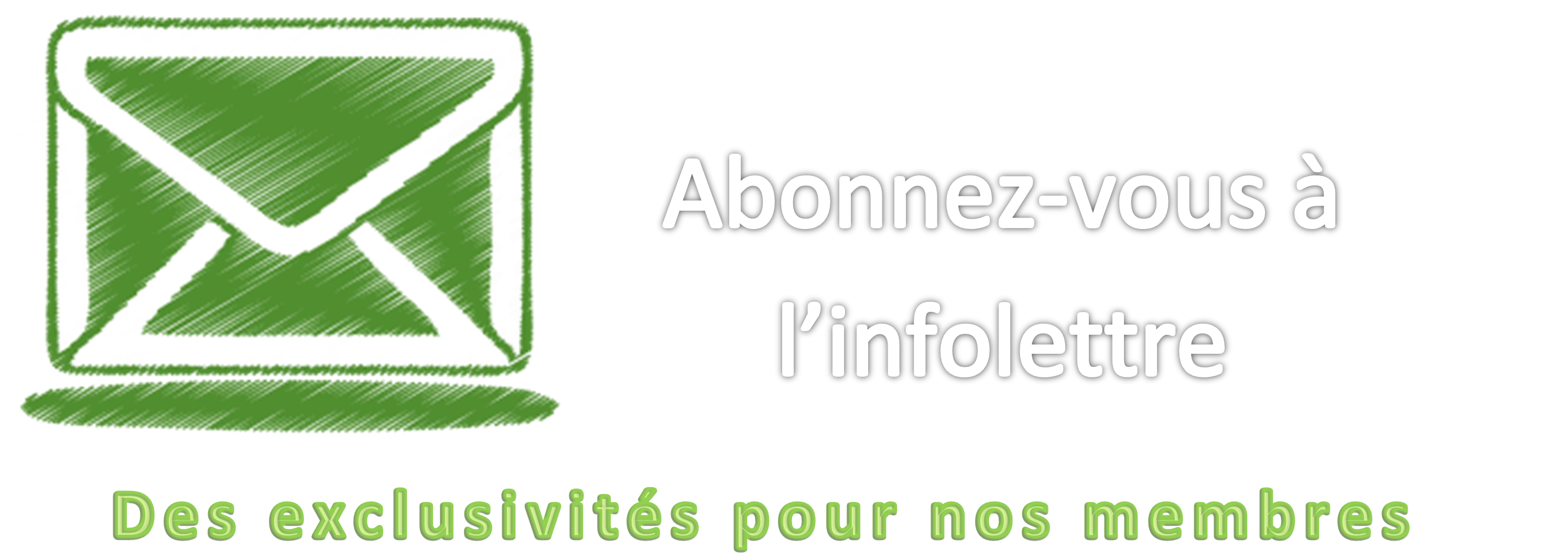 Inscription à Infolettre