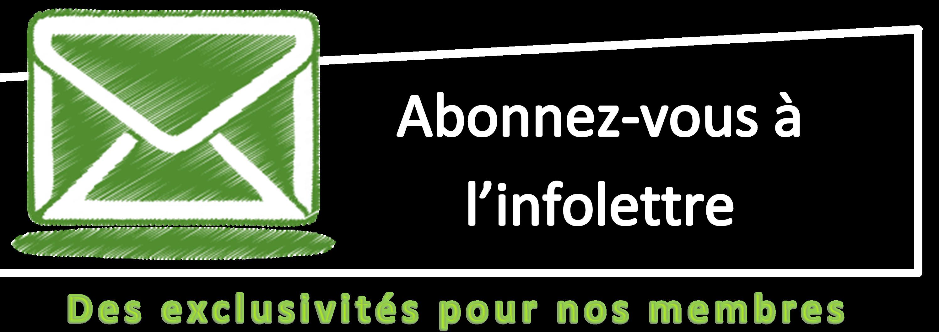 Inscription à Infolettre
